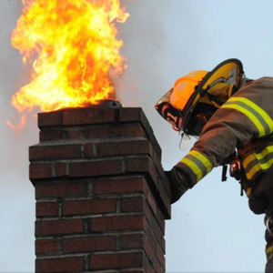 Chimney Fire And Flooding Claim